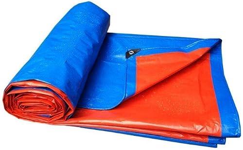 Sgfccyl Bache imperméable à l'eau de Prougeection Solaire bache imperméable canopée canopée Toile de Camion imperméable à l'eau bache recouverte de Tissu en Plastique (Taille   5  5)
