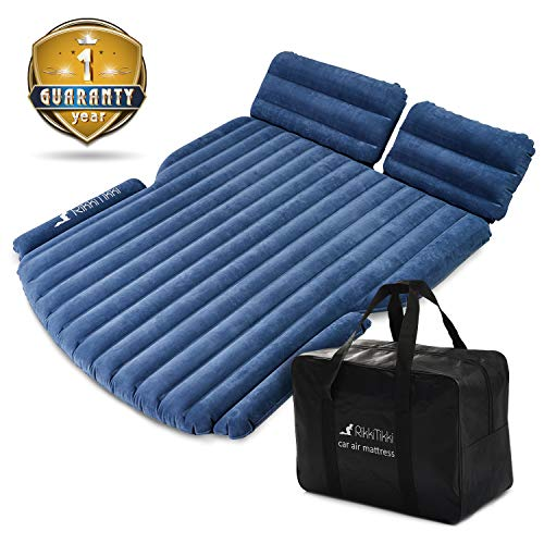 RikkiTikki SUV Air Mattress - Inflatable Car Mattress with...