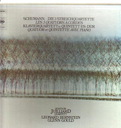 Robert Schumann , Leonard Bernstein / Glenn Gould / Juilliard...