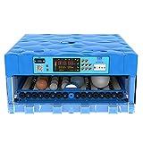 ZFF Automatico Uovo Incubatrice Auto Temperatura Controllo Girando L'uovo Inteligente Pollo Incubatrice Pollame Hatcher per Polli Anatre Oca Uccelli (Color : 48 Egg)