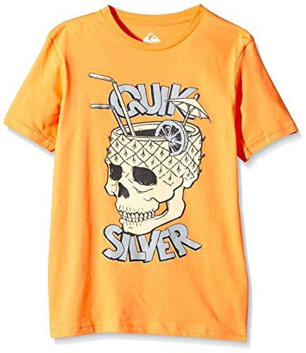 Quiksilver t-Shirt à Manches Courtes pour garçon modèle Classic t y a31 b t-Shirt pour Homme S Orange - Orange