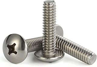 """10-32x2 Phillips Oval Head Screws Stainless Steel # 10//32 x 2/"""" 50"""