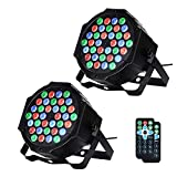 LUNSY DJ Par Lights, 36LED Uplighting Lights for...