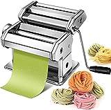 Pasta Maker Machine Hand Crank -...