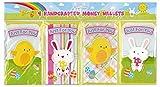 PMS International Pack de 4 variés de Pâques Money Wallets 3D fabriquéà la Main Cadeau Cartes...