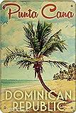Punta Cana República Dominicana - Cartel de pintura para decoración de hogar, cocina, baño, granja, jardín, garaje, citas inspiradoras para decoración de pared