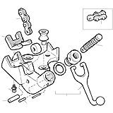 Ridgid 41095 E2424 Vise Chain Screw, NA