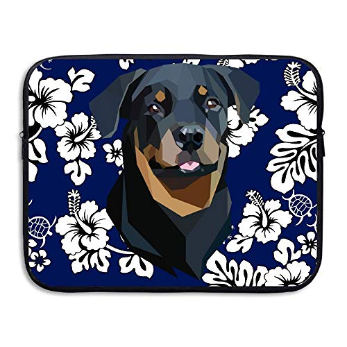 Laptop Sleeve Bag Polygon Dogs 15 Inch BriefSleeve Bags Cover Notebook Waterproof Portable Messenger Bags