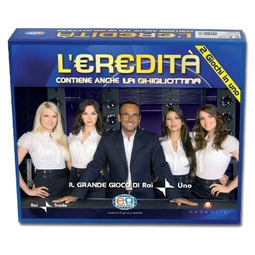 Editrice Giochi Gioco da Tavolo L'Eredità, 6033991