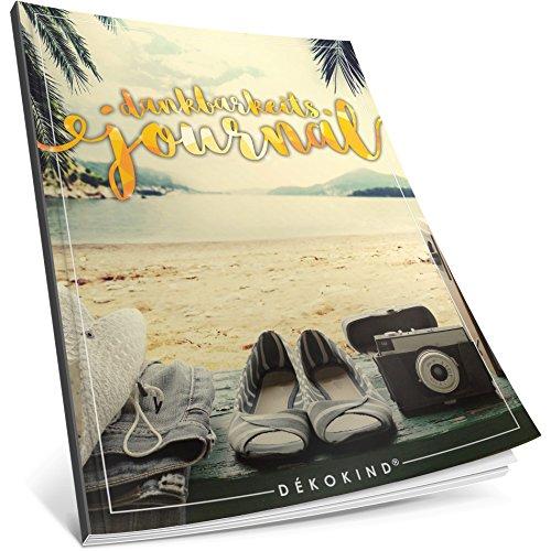 Dékokind® Dankbarkeits-Journal: Ca. A4-Format • Für 365 Tage, Vintage Softcover • Ein Tagebuch für mehr Achtsamkeit, Erfüllung & Glück im Leben • ArtNr. 03...