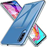 PHONE CONVERSE Funda TPU Samsung A70 Fina Carcasa Transparente Silicona Resistente Anti-Arañazos para Samsung A70