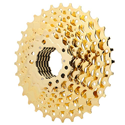 Bnineteenteam Volano Bici, Ruota Libera per Bicicletta con Volano per Mountain Bike in Acciaio Ad Alta Resistenza con Rapporto di Trasmissione: 11-13-15-18-21-24-28-32T