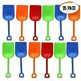 Bramble Juego de 15 Pala de Playa para Niños, 9' en Colores Surtidos - Juguetes para la Arena y...