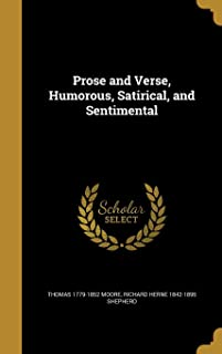 Prose and Verse, Humorous, Satirical, and Sentimental