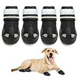 """♥【Size 6:2.9""""x2.5"""" (LW)】♥Please refer to the picture size chart. You can choose the right size for your dog for the most comfortable fit. ♥【High quality】♥High quality fabrics, wear resistant, endure dirty. Durable and anti-slip soles can provide stab..."""