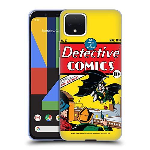 Head Case Designs Oficial Batman DC Comics Detective de Primera aparición Disfraces icónicos Carcasa de Gel de Silicona Compatible con Google Pixel 4