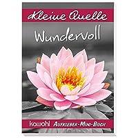 Wundervoll: Aufkleber-Mini-Buch