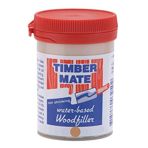 Timbermate American Cherry/Brush Box Hardwood Wood Filler 8oz Jar
