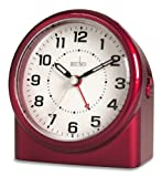 Acctim 14284 Central Reloj con Alarma, Color Rojo
