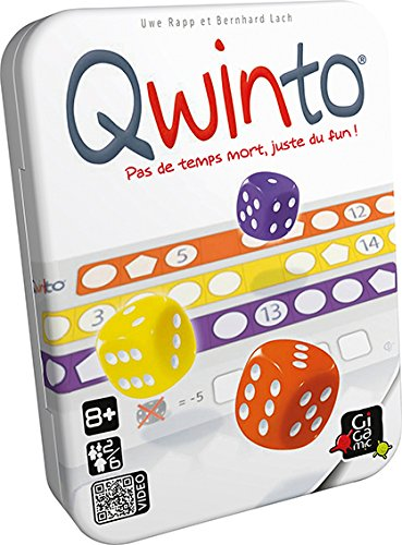GIGAMIC Gesellschaftsspiel Qwinto, JNQW