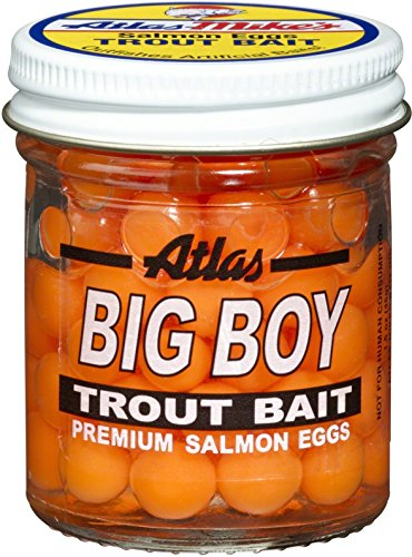 Atlas 203 Big Boy Salmon Eggs, Orange