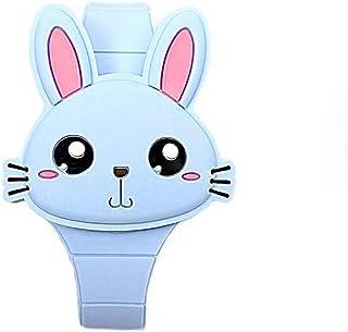 MINILUJIA Girls Digital Watch Cute Rabbit Cat Clamshell Design Led Watch