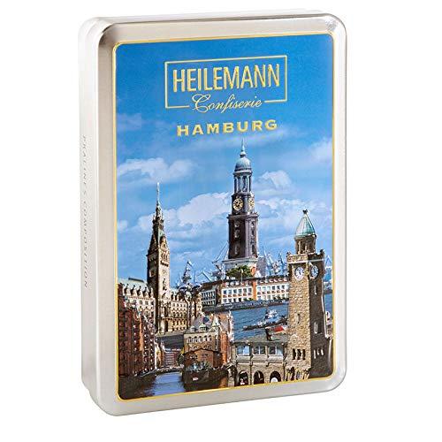 Heilemann Pralinendose mit Hamburgmotiv , 1er Pack (1 x 130 g)
