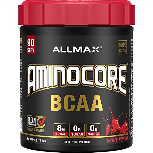 AllMax Nutrition Aminocore BCAA, Fruit Punch Blast, 1.105 kg