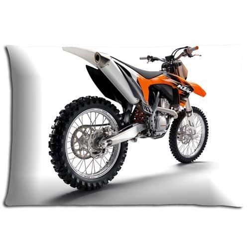 Justin Channel Kissenbezug mit Reißverschluss, Polyester / Baumwolle, Motiv: Motocross, pflegeleicht, 40 x 60 cm