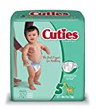 Cuties Baby Diapers, Size 5, 27 Count (Pack of 4) by Cuties