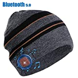 Moretek Gifts for Men Bluetooth Beanie Music Hat Stocking Stuffers for Kids