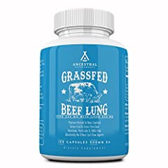 """Based on the concept """"like supports like,"""" consuming lung supports our own lung and respiratory health* Provides all the building blocks... specific proteins, peptides, enzymes & cofactors along with molecular biodirectors (DNA instructions) to code ..."""