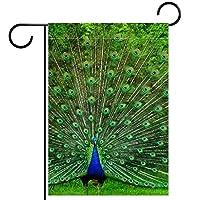 庭の装飾の屋外の印の庭の旗の飾り孔雀 テラスの鉢植えのデッキのため