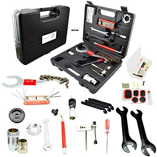 Lumintrail Bike Repair Tool Kit 26 Piece Multi Tool Bicycle...