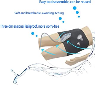 HAMUHA Male Urinal Bag Pee Bag Portable Wearable Men's Urinal Elastic Waistband Toilet Elastic Waistband Urine Replacement Collector (M)