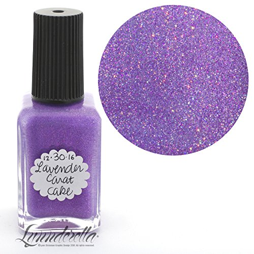 Lynnderella Limited Edition Christmas Advent Nail Polish Lavender Shimmerella—December 30-Lavender Carat Cake