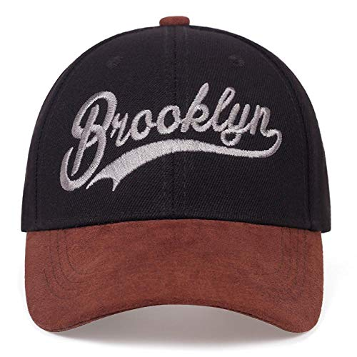 Kappe New Brooklyn Letter Stickerei Baseballmütze Mode Nähen Hip Hop Caps Verstellbare Baumwolle Freizeithüte Frühling Sommer Sonne Hüte Schwarz