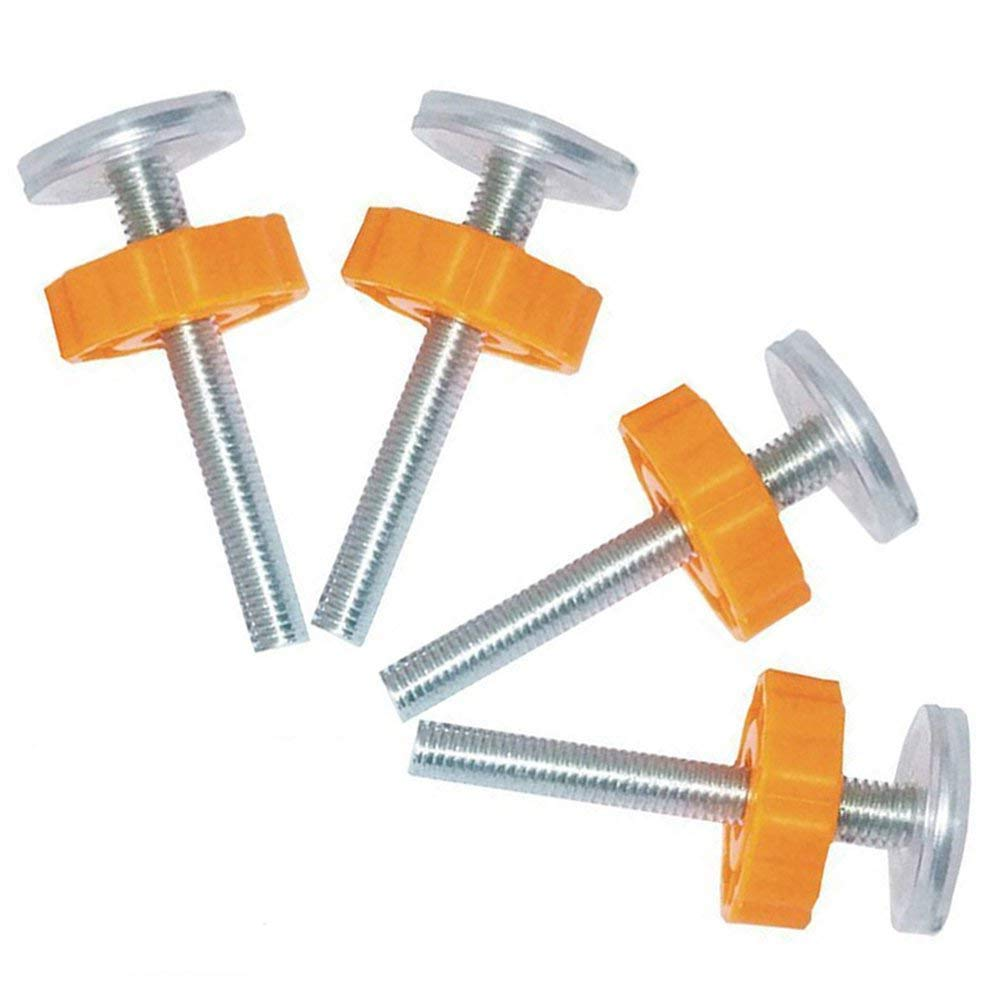 Eyech 4Pcs M10 Pressure Mounted Gate Screw Bolts, 10mm Threaded Spindle Rods Mounted Accessory for Walk Through Baby Safety Gates