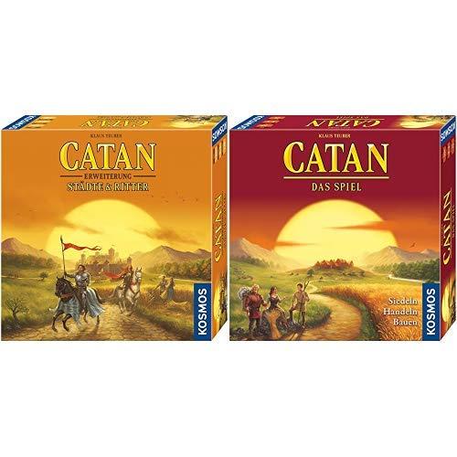 Kosmos - Catan - Städte & Ritter, neue Edition Strategiespiel & - Catan - Das Spiel, neue Edition, Strategiespiel