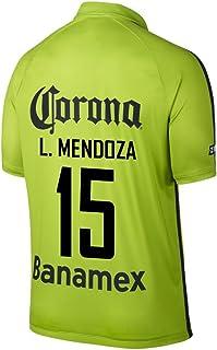 L. Mendoza #15 Club America Third (3rd) Soccer Jersey