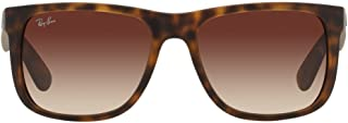 Ray Ban Justin Mens Sunglasses RB4165 710/13 Rubber...