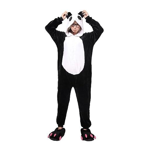 hombre Ladie large /… JYSPORT Animal Pijama Unisex forro polar con capucha pijama para ni/ños drag/ón