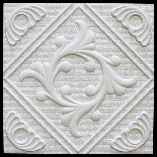 10 qm | Deckenplatten | EPS | formfest | Marbet | 50x50cm | Anet