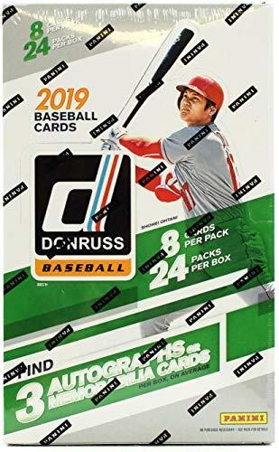 2019 Panini Donruss MLB Baseball Hobby Box