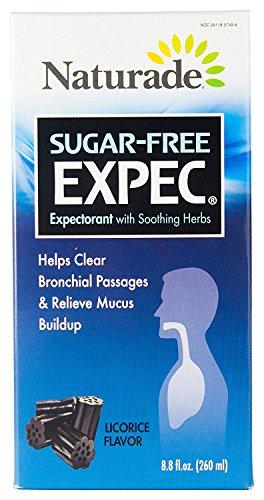 NATURADE®: HERBAL COUGH/COLD Herbal Expectorant (EXPEC II)- Sugar-Free, 8.8 fl.oz