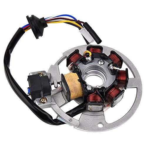 Magneto Stator Generator #650234 Replacement for Eton Viper 90 RXL-90R Sierra DXL90 AXL90 50cc 90cc 110cc ATV