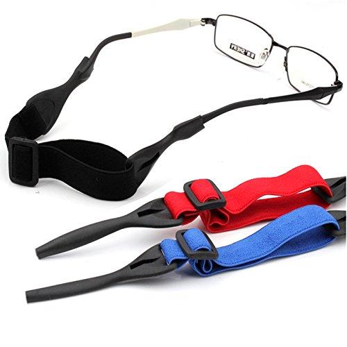 Bluelover Anti-Slip-zonnebril, leesbril, verstelbare koorden, kettinghouder, snoer