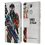 Head Case Designs Officially Licensed Activision Call of Duty Black Ops Cold War Special Edition Key Art Leather Book Wallet Case Cover Compatible with Sony Xperia XA2