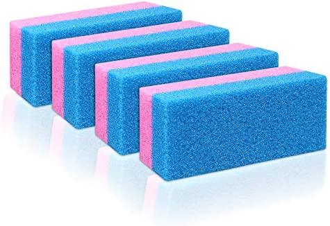 Pumice Bar 4 Pcs Set Dual Sided Extra Coarse Exfoliating Foot File Heel Feet Scrubber Pumice product image
