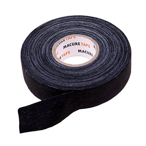 1 Rolle Wasserdicht Tape Band Hockey Grip für Hockey- und Eishockeyschläger - Schwarz